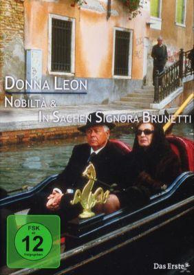 Donna Leon: Noblità + In Sachen Signora Brunetti, Donna Leon, Kathrin Richter, Ralf Hertwig