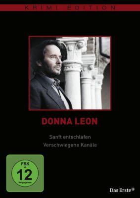 Donna Leon: Sanft entschlafen / Verschwiegene Kanäle, Donna Leon