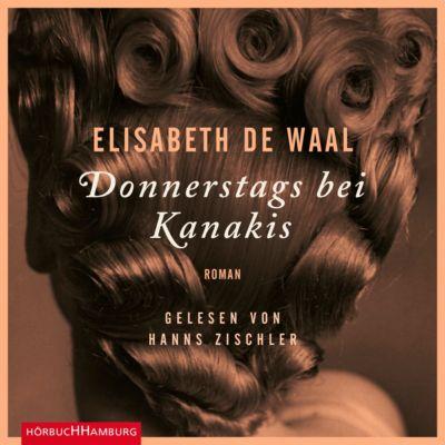Donnerstags bei Kanakis, 5 Audio-CDs, Elisabeth de Waal