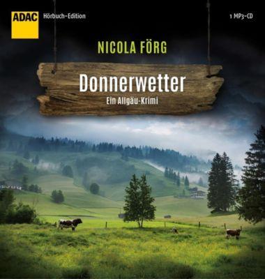 Donnerwetter, 1 MP3-CD, Nicola Förg