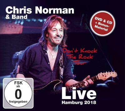 Don't Knock The Rock Tour - Live Hamburg 2018 (CD+DVD), Chris Norman