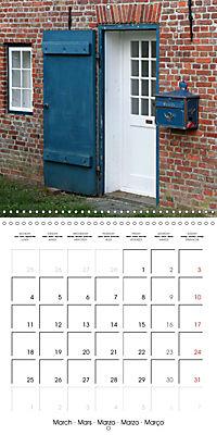 Doors and windows (Wall Calendar 2019 300 × 300 mm Square) - Produktdetailbild 3