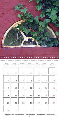 Doors and windows (Wall Calendar 2019 300 × 300 mm Square) - Produktdetailbild 9