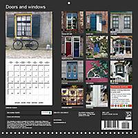 Doors and windows (Wall Calendar 2019 300 × 300 mm Square) - Produktdetailbild 13