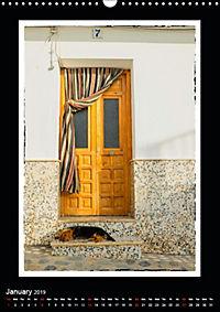 Doors of Andalucia (Wall Calendar 2019 DIN A3 Portrait) - Produktdetailbild 1