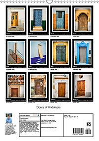 Doors of Andalucia (Wall Calendar 2019 DIN A3 Portrait) - Produktdetailbild 13
