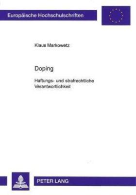 Doping, Klaus Markowetz