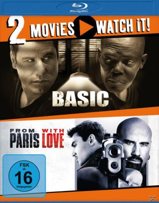 Doppel-Schocker: Basic + From Paris with Love - 2 Disc Bluray, Diverse Interpreten