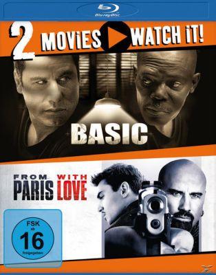 Doppel-Schocker: Basic + From Paris with Love - 2 Disc Bluray, James Vanderbilt, Luc Besson, Adi Hasak