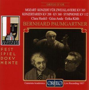 Doppelkonzert Kv 365/Arien/Sinfonie Kv 112/+, Haskil, Anda, Köth, Paumgartner, Cam.Acad.Salzburg