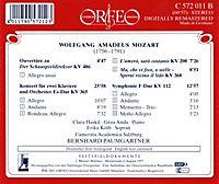 Doppelkonzert Kv 365/Arien/Sinfonie Kv 112/+ - Produktdetailbild 1