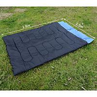 Doppelschlafsack mit Kissen - Produktdetailbild 2