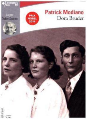 Dora Bruder, 1 MP3-CD, Patrick Modiano