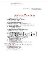 Dorfspiel - Andrea Zanzotto |