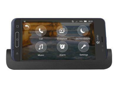 DORO 8035 Senioren-Smartphone Android 7.1 12,7cm 5Zoll 5MP Kamera 2MP Front Kamera 2GB RAM 16GB ROM BT GPS inkl. Ladestation