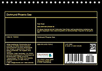 Dortmund Phoenix See (Tischkalender 2019 DIN A5 quer) - Produktdetailbild 13