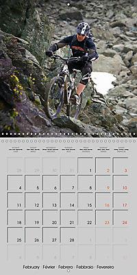 Downhill in the Alps (Wall Calendar 2019 300 × 300 mm Square) - Produktdetailbild 2