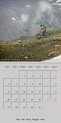 Downhill in the Alps (Wall Calendar 2019 300 × 300 mm Square) - Produktdetailbild 5