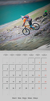 Downhill in the Alps (Wall Calendar 2019 300 × 300 mm Square) - Produktdetailbild 3