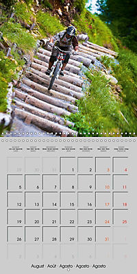 Downhill in the Alps (Wall Calendar 2019 300 × 300 mm Square) - Produktdetailbild 8