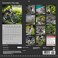 Downhill in the Alps (Wall Calendar 2019 300 × 300 mm Square) - Produktdetailbild 13