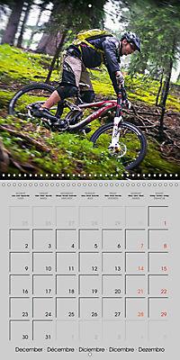 Downhill in the Alps (Wall Calendar 2019 300 × 300 mm Square) - Produktdetailbild 12