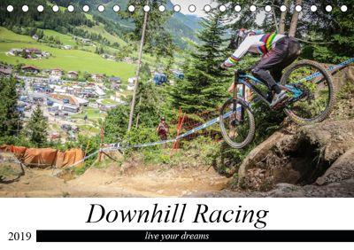 Downhill Racing (Tischkalender 2019 DIN A5 quer), Arne Fitkau