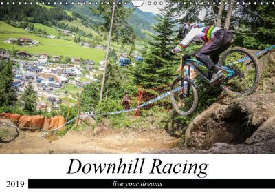 Downhill Racing (Wandkalender 2019 DIN A3 quer), Arne Fitkau