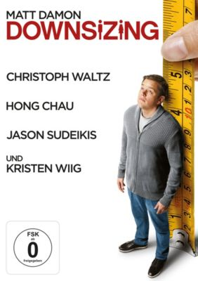 Downsizing, Kirsten Wiig,Christoph Waltz Matt Damon