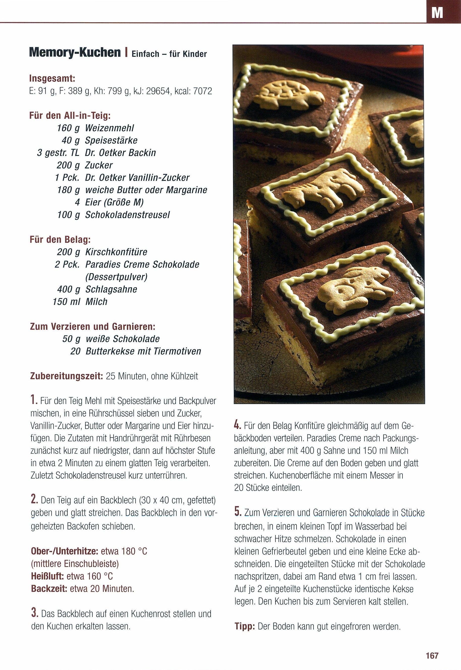 Dr Oetker Blechkuchen Von A Z Buch Bei Weltbild Ch Bestellen
