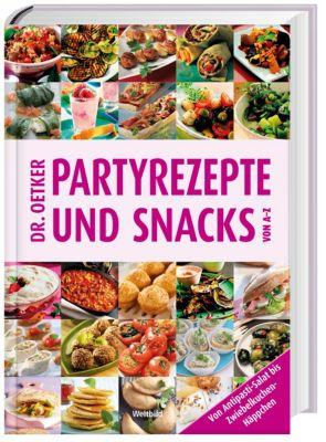 Dr. Oetker Partyrezepte und Snacks von A-Z