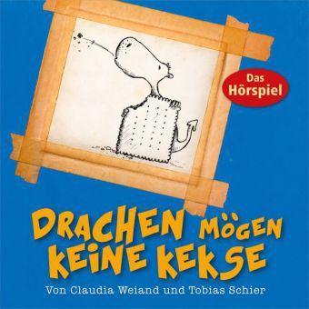 Drachen mögen keine Kekse, Audio-CD, Claudia Weiand, Tobias Schier