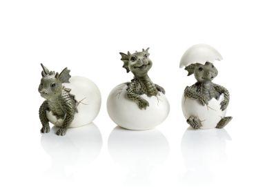 Drachenbabys im Ei, 3er-Set