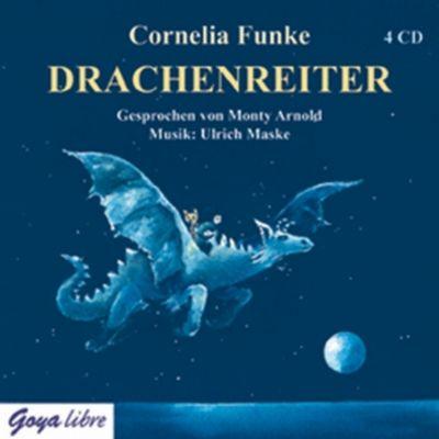 Drachenreiter, 4 Audio-CDs, Cornelia Funke