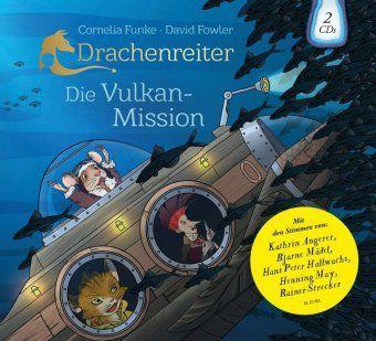 Drachenreiter - Die Vulkan-Mission, 2 Audio-CDs, Cornelia Funke