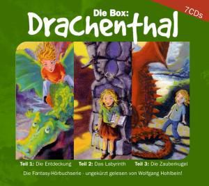 Drachenthal, 7 Audio-CDs, Wolfgang Hohlbein