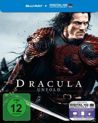 Dracula Untold Steelcase Edition, Sarah Gadon,dominic Cooper Luke Evans