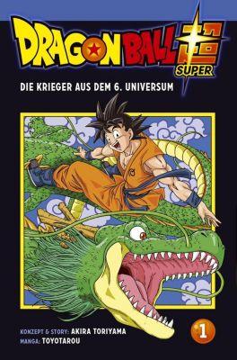 Dragon Ball Super - Der Krieger aus dem 6. Universum, Akira Toriyama, Toyotarou