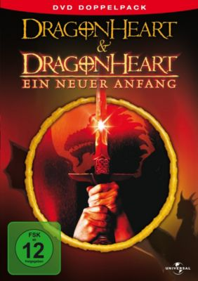 Dragonheart 1 + 2, David Thewlis,Pete Postlethwaite Dennis Quaid