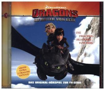 dragons die reiter von berk die drachenakademie von berk 1 audio cd h rbuch. Black Bedroom Furniture Sets. Home Design Ideas