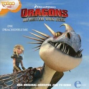 dragons die reiter von berk die drachenblume audio cd h rbuch. Black Bedroom Furniture Sets. Home Design Ideas