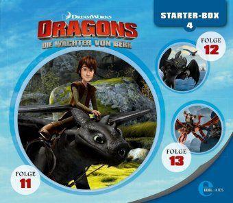 Dragons - Die Wächter von Berk (Starter-Box 4) (3 CDs), Dragons-Die Reiter Von Berk