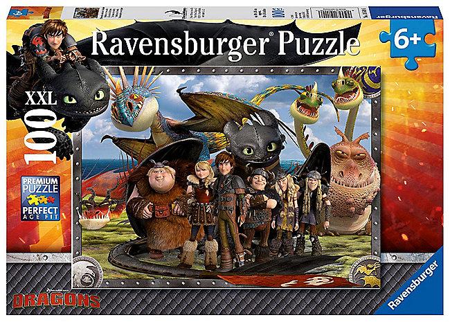 Dragons Ohnezahn Und Seine Freunde Kinderpuzzle Weltbildde