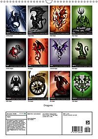 Dragons (Wall Calendar 2019 DIN A3 Portrait) - Produktdetailbild 13