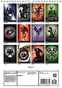 Dragons (Wall Calendar 2019 DIN A4 Portrait) - Produktdetailbild 13