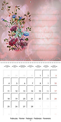 Drawings for notes (Wall Calendar 2019 300 × 300 mm Square) - Produktdetailbild 2