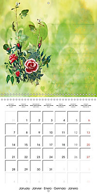 Drawings for notes (Wall Calendar 2019 300 × 300 mm Square) - Produktdetailbild 1
