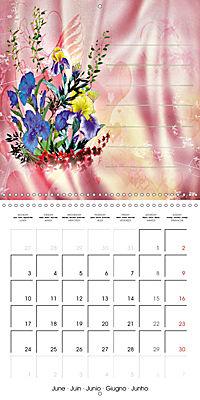 Drawings for notes (Wall Calendar 2019 300 × 300 mm Square) - Produktdetailbild 6