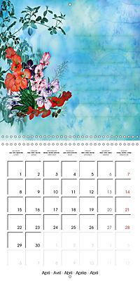 Drawings for notes (Wall Calendar 2019 300 × 300 mm Square) - Produktdetailbild 4