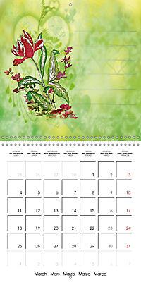 Drawings for notes (Wall Calendar 2019 300 × 300 mm Square) - Produktdetailbild 3